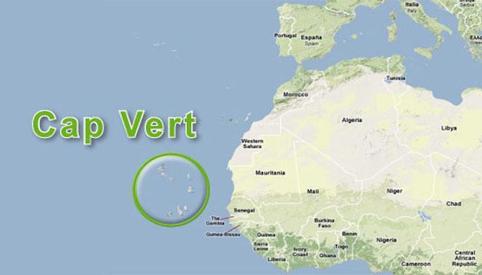 Carte afrique ouest loupe