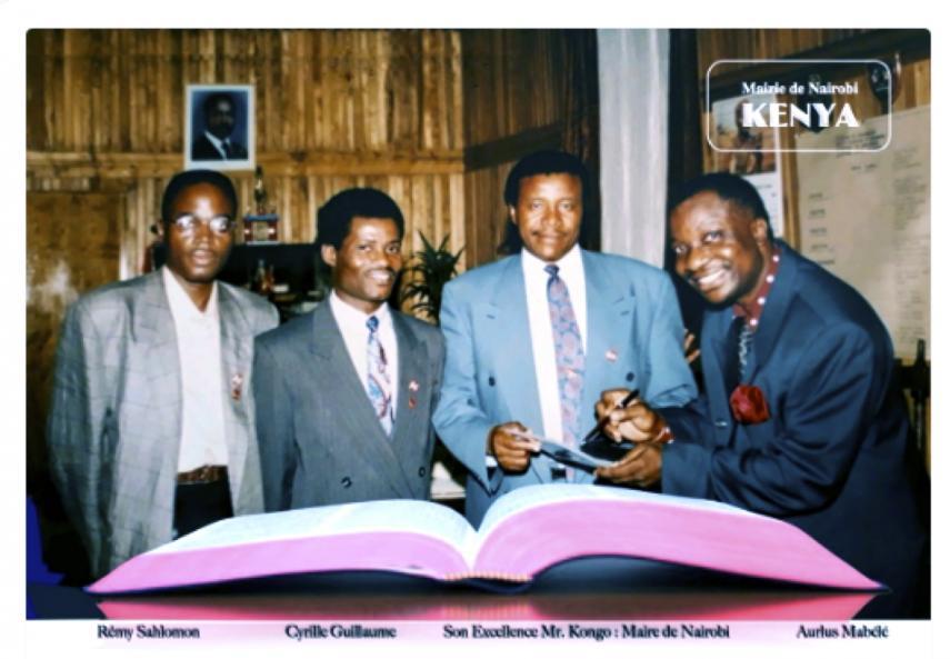 Kenya re my sahlomon guillaume cyril alcalde de nairobi sr kongo aurlus mabe le