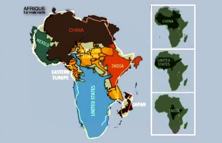 La vraie carte africaine