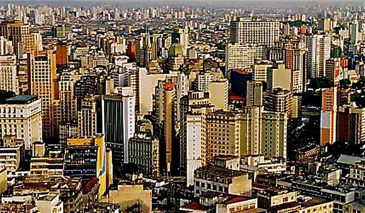 Lagos cityscape wallpaper