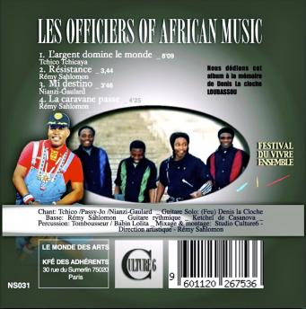 Les officiers of african music 2