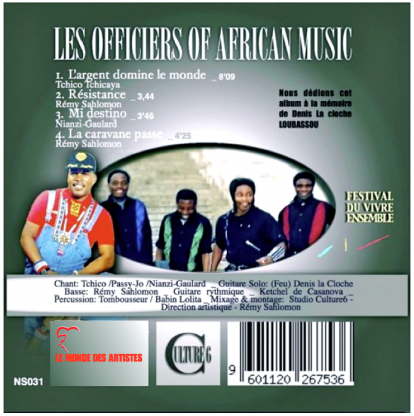 Les officiers of african music