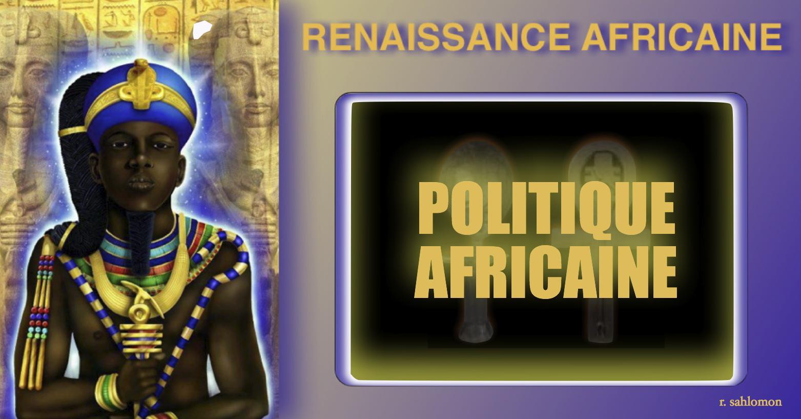 LA POLITIQUE AFRICAINE